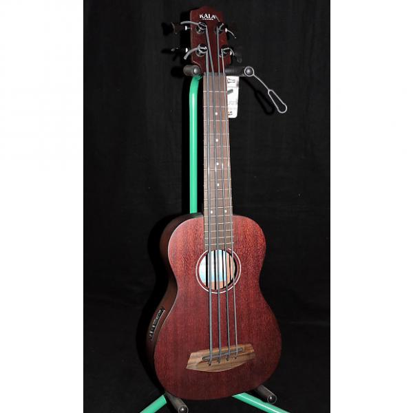 Custom Kala UBASS-RMBL-FS Fretted Mahogany with Active EQ Built in Tuner and Gig Bag #1 image