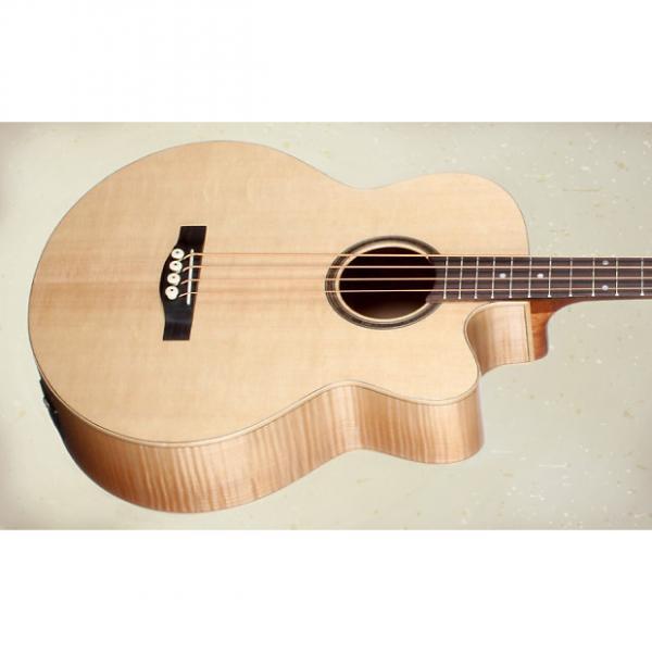 Custom Teton STB130FMCENT Acoustic  Bass Guitar. New! #1 image