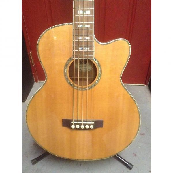 Custom Ltd Xtone Series 5-string Acoustic Bass Xacb15esnat Natural #1 image