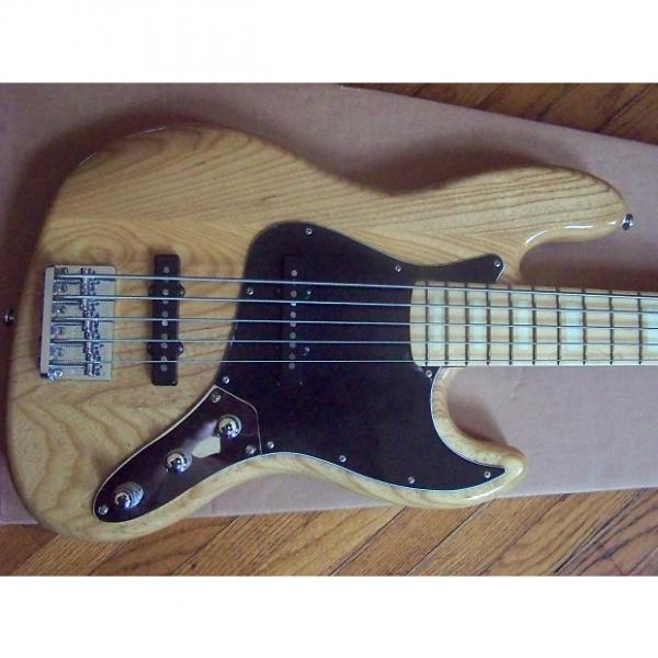 Custom Ken Smith Designs Proto J 70's  5 String Bass Guitar Natural #1 image