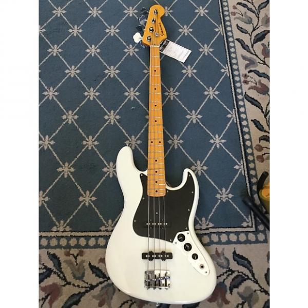 Custom Simmons J-Bass Copy 2012 White #1 image