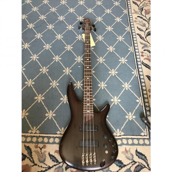 Custom Ibanez Prestige Bass 2009 See-Thru Charcoal #1 image