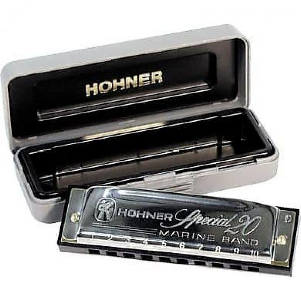 Custom Hohner 560 Special 20 Harmonica - D Key #1 image
