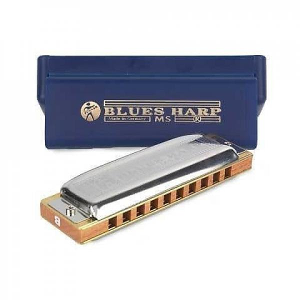Custom Hohner 532 Blues Harp MS-Series Harmonica - C Key #1 image
