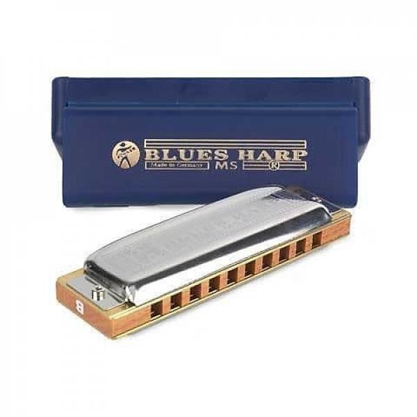 Custom Hohner 532 Blues Harp MS-Series Harmonica - D Key #1 image