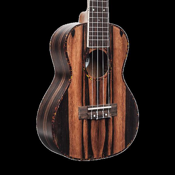 Custom Amahi UK990B Classic Ebony Ukulele - Baritone with Gig Bag #1 image