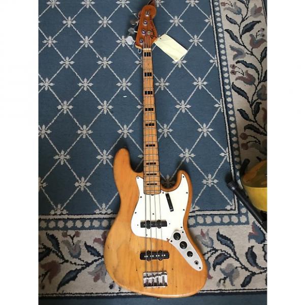 Custom Fender Jazz Bass 1973 Natural #1 image