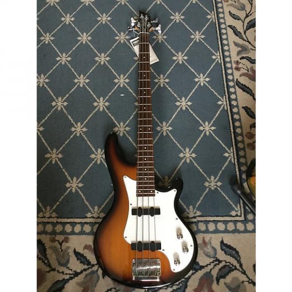 Custom Cort Retro 4 Bass Tobacco Burst #1 image