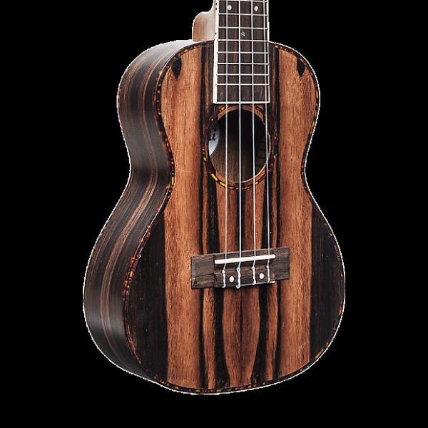 Custom Amahi UK990T Classic Ebony Ukulele - Tenor with Gig Bag #1 image