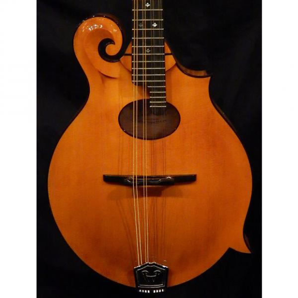 Custom Weber Yellowstone HT F Style Mandolin New Honey Amber Gloss #1 image
