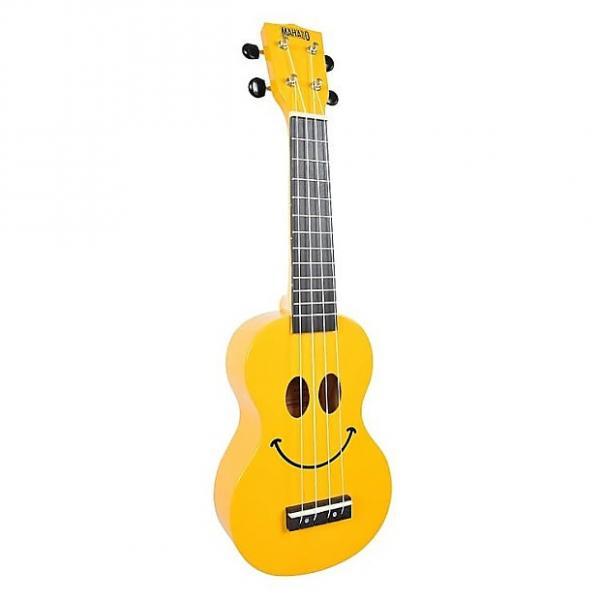 Custom Mahalo Smile Yellow Soprano Ukulele #1 image