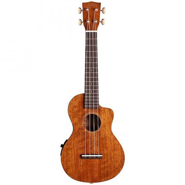 Custom Mahalo Hano Elite Cutaway Acoustic-Electric Concert Ukulele #1 image