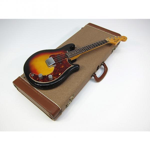 Custom 1962 Fender Electric Mandolin Pre CBS Slab Board Miniture Beauty with Original Brown Case with keys #1 image