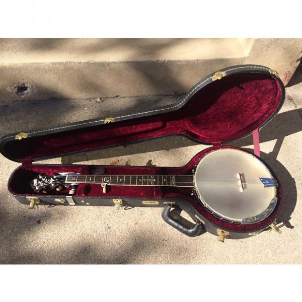 """Custom Ome Sweetgrass 12"""" Open Back Custom Banjo 2010 Honey Amber #1 image"""