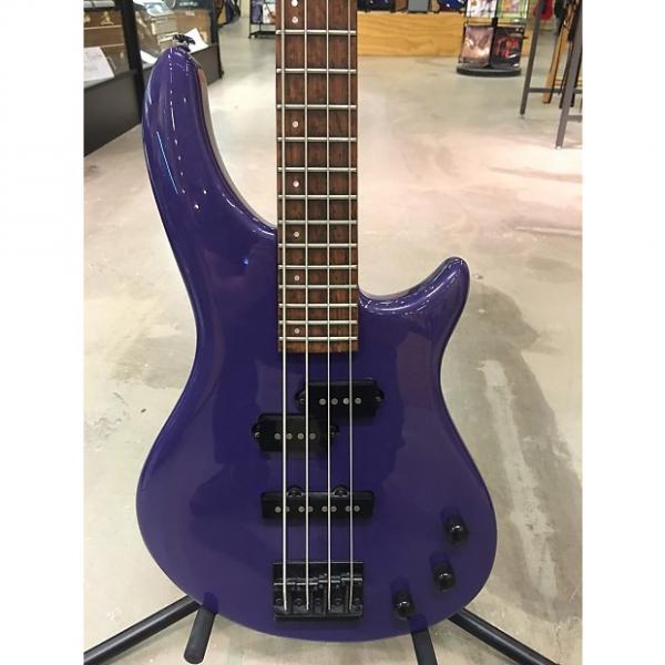 Custom LTD H-4 Bass Guitar Purple #1 image