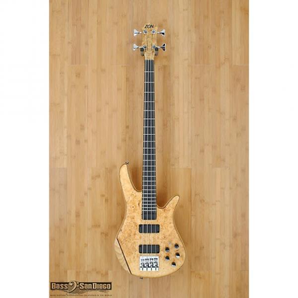 Custom Zon Sonus Custom 4 String Bass Guitar #1 image