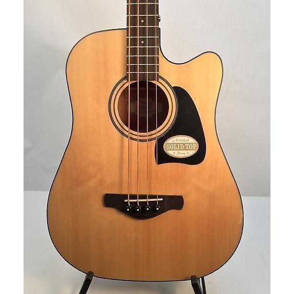 Custom Ibanez AWB50CE Acoustic Bass #1 image