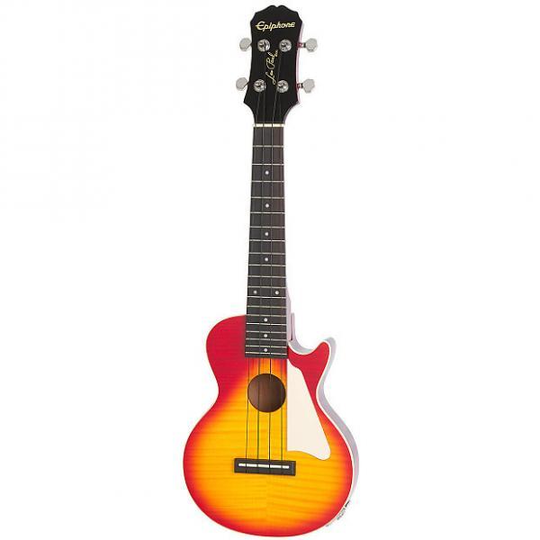 Custom Epiphone Les Paul Electro-Acoustic Ukulele - Heritage Cherry Sunburst #1 image