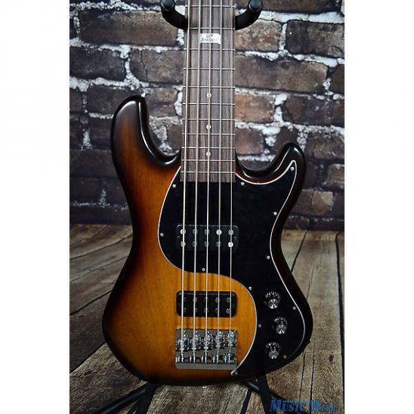 Custom 2014 Gibson EB Bass 5 String Bass Guitar Vintage Sunburst + Case #1 image