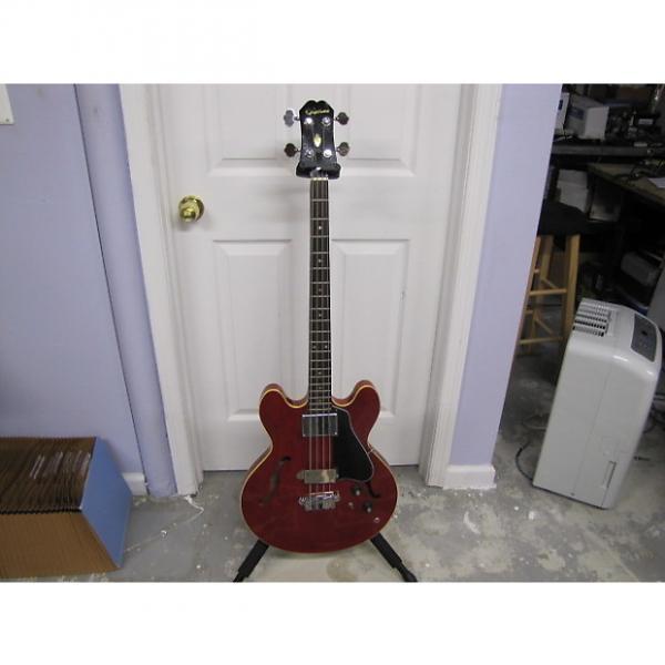 Custom Epiphone Rivoli EB232C 1966 Cherry #1 image