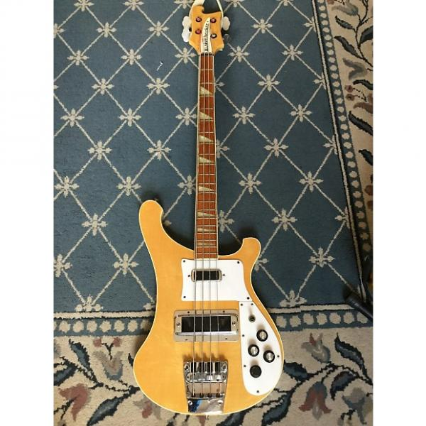 Custom Rickenbacker 4003 Bass  1980 Mapleglo #1 image