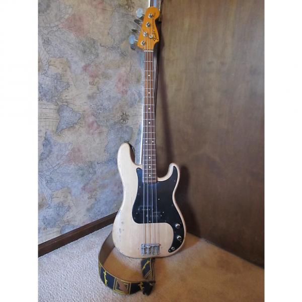 Custom Fender P-bass 1971 Anitique Natural #1 image