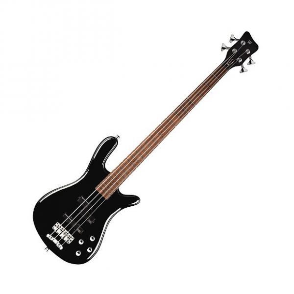 Custom Warwick RockBass Streamer LX 4-String - Black #1 image