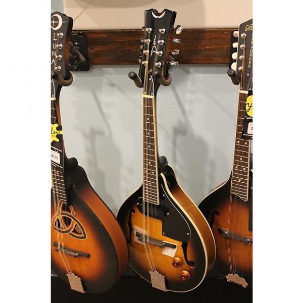 Custom Dean Tennessee A-Style Electric Mandolin Sunburst #1 image