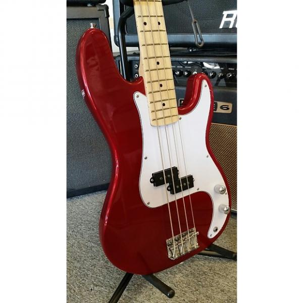 Custom Jay Turser JTB 400M Candy Apple Red 4 String Electric Bass #1 image