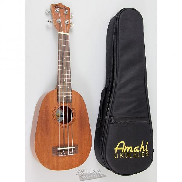 Custom Amahi UK240S Select Mahogany Series Soprano Ukulele | Pineapple Shape #1 image