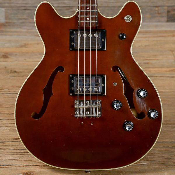 Custom Guild Starfire II 4-String Bass Brown 1974 (s163) #1 image