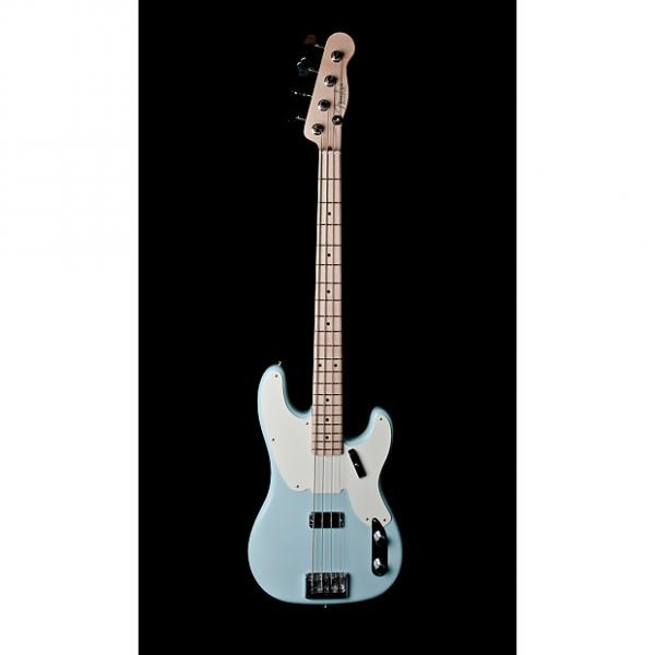Custom Fender 2014 Prototype Precision Bass in Sonic Blue #1 image