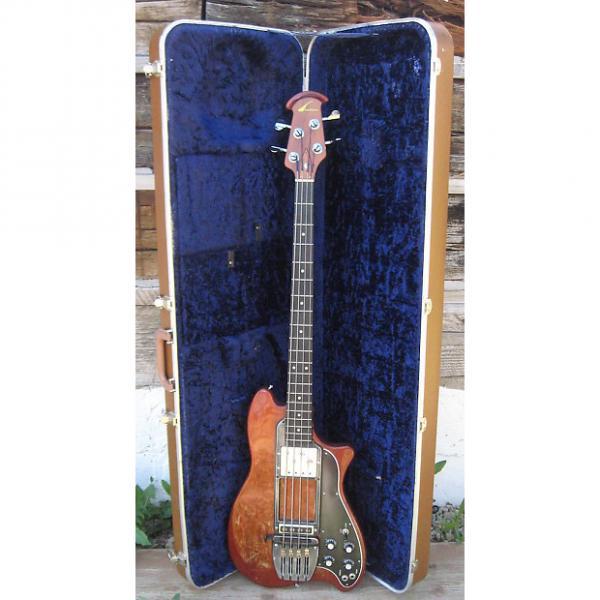 Custom Ovation Magnum I Bass Serial #1 1974 Mahogany #1 image