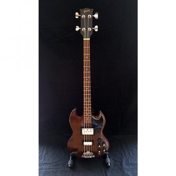 Custom Gibson EB-3L 1974 Cherry #1 image