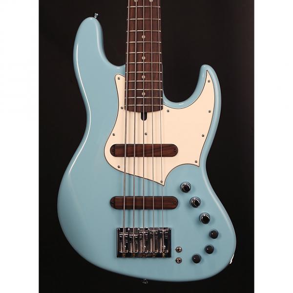 Custom Xotic XJ-1T 5 String Sonic Blue #1271 #1 image