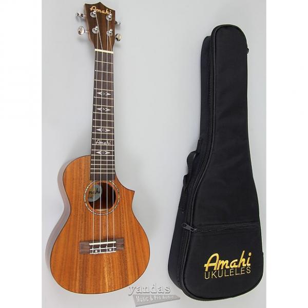 Custom Amahi C-04 Exotic Wood Concert Ukulele Solid Koa - No Electronics #1 image