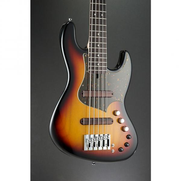 Custom Xotic XJ-1T 5 String 3 Tone Sunburst #2072U #1 image