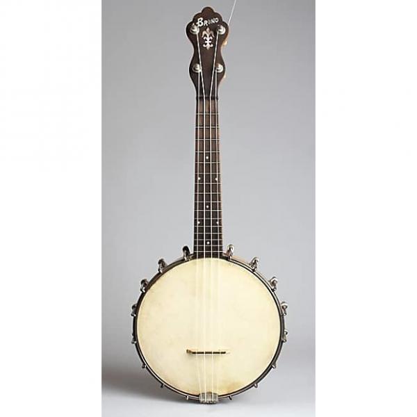 Custom Bruno Banjo Ukulele, most likely made by Slingerland,  c. 1926, NO CASE case. #1 image