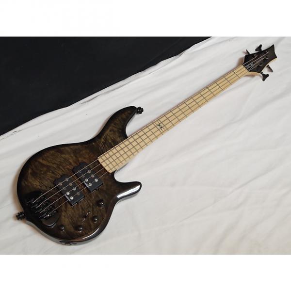 Custom TRABEN Chaos Core 4-string BASS guitar Black Vapor new - Aguilar preamp #1 image