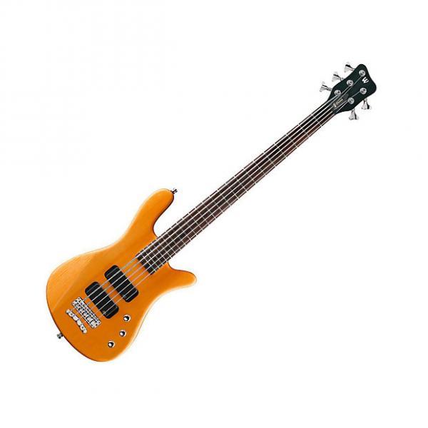 Custom Warwick RockBass Corvette 4-String Bass - Honey Violin #1 image