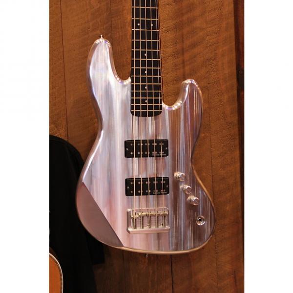 Custom Metalin' BOC 5 Aluminum 5 String Jazz bass w/case #1 image