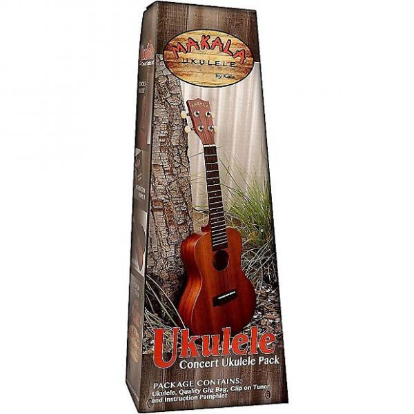 Custom Makala MK-S Soprano Ukulele Pack with Bag, Tuner, and Instruction Pamphlet #1 image