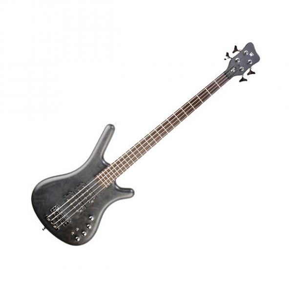 Custom Warwick GPS Corvette Double Buck Bass Guitar - Nirvana Black #1 image