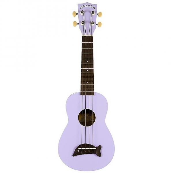 Custom Makala MK-SD/PL Soprano Ukulele, Purple #1 image