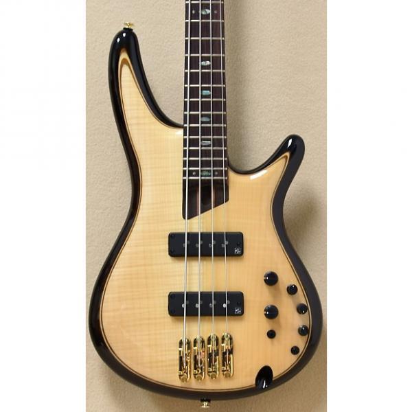 Custom Ibanez SR Premium Series SR1400E Electric Bass in Natural #1 image