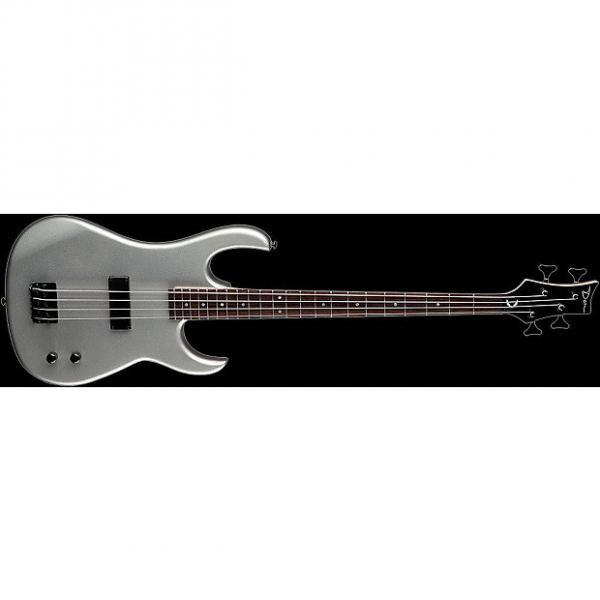 Custom DEAN Zone 4-string BASS guitar NEW Metallic Silver - Bolt-on #1 image