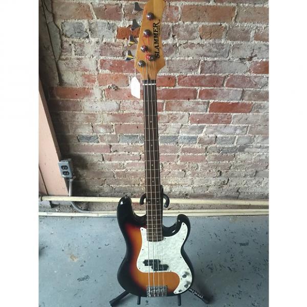 Custom VG+ used Hamer Slammer electric bass #1 image