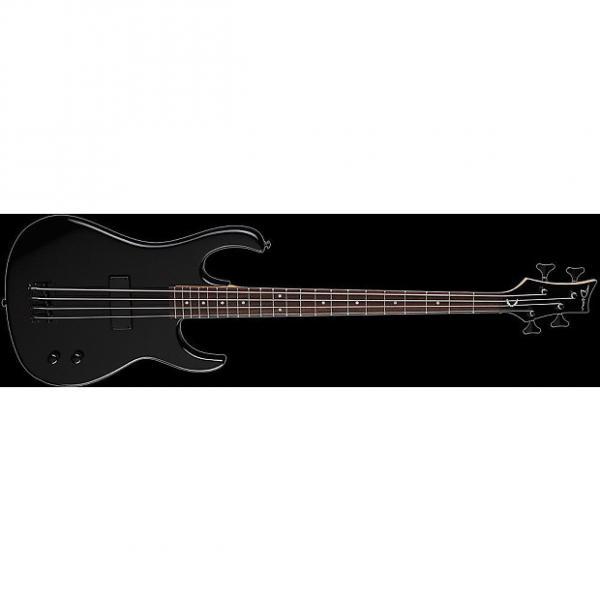 Custom DEAN Zone 4-string BASS guitar NEW Metallic Black w/ DEAN HARD CASE - Bolt-on #1 image