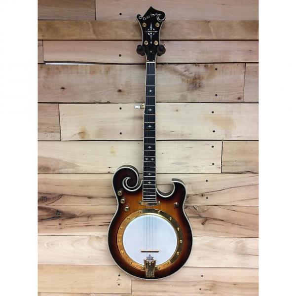 Custom Gold Tone EBM-5 Electric Banjo Tobacco Sunburst #1 image