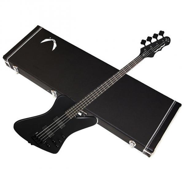 Custom DEAN John Entwistle HYBRID Pro 4-string BASS guitar NEW Black Satin w/HARD CASE #1 image